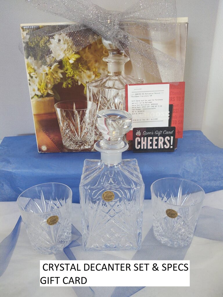 Decanter & Gift Card